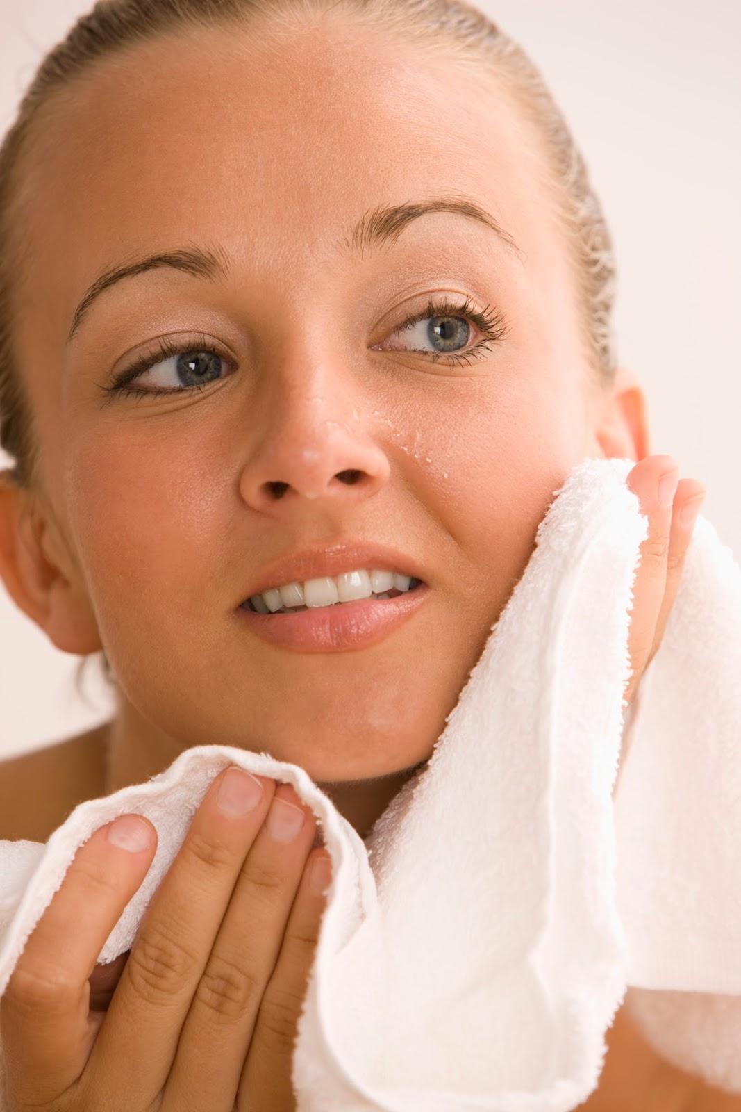 Resultado de imagen para secarse la cara