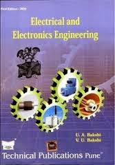 Electrical and Electronics Engineering U.A.Bakshi and V.U.Bakshi