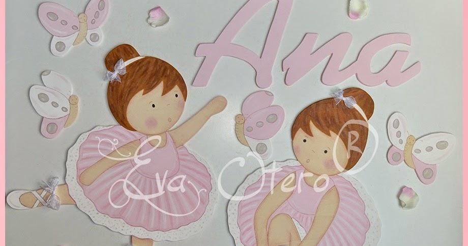SILUETAS INFANTILES EVA OTERO: SILUETAS DE BAILARINAS DE