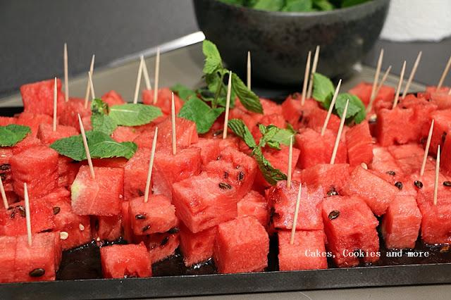 Wassermelonen-Apéro