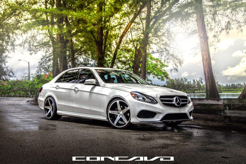 Mercedes Benz W212 E350 Concavo Wheels Benztuning