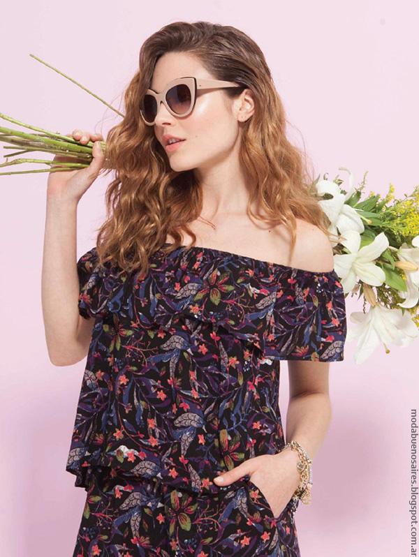 Moda verano 2017, blusas colección Asterisco primavera verano 2017. Ropa de Mujer 2017 Moda.