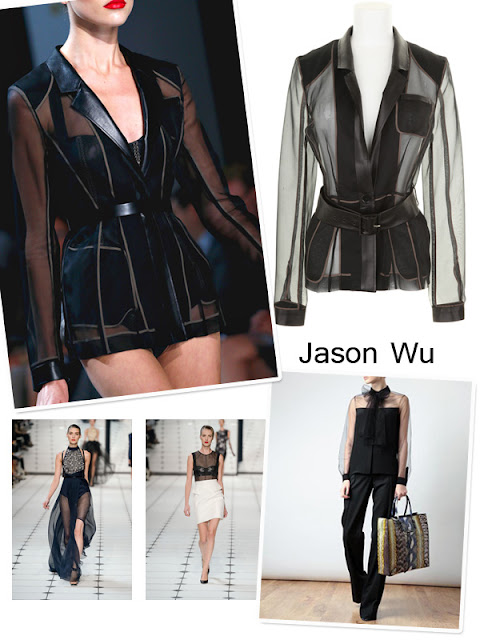 Spring Trend 2013 - Transparency - Jason Wu