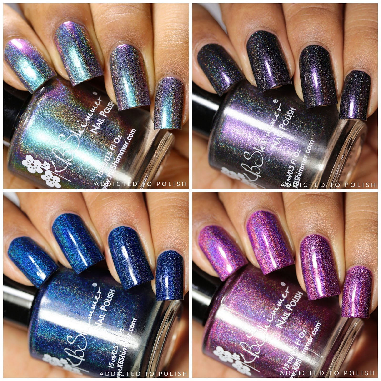 KBShimmer Hella Holo Customs February 2017