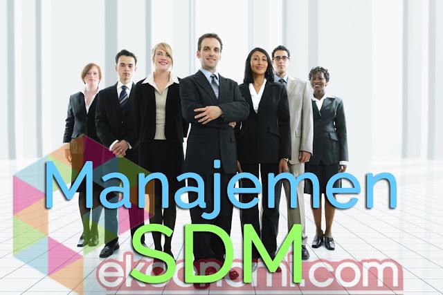 Pengertian Manajemen SDM Sumber Daya Manusia