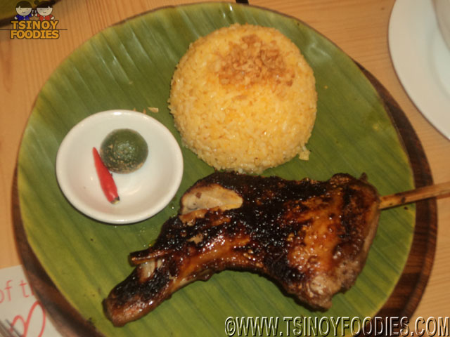 chicken inasal paa