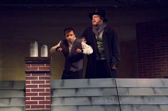 """«Ο ΠΑΛΑΜΗΔΗΣ» """"εξαργύρωσε"""" το δώρο με παρακολούθηση της θεατρικής παράστασης  «Όλιβερ Τουίστ»"""