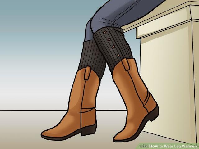 usar caneleiras com botas ou botins