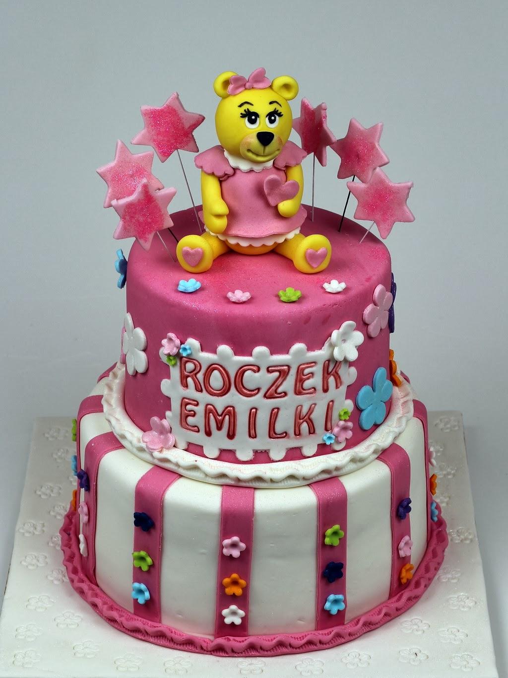 London Patisserie 1st Birthday Cake for Girl