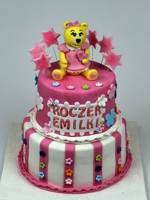1st Birthday Cake for Girl - London Cakes