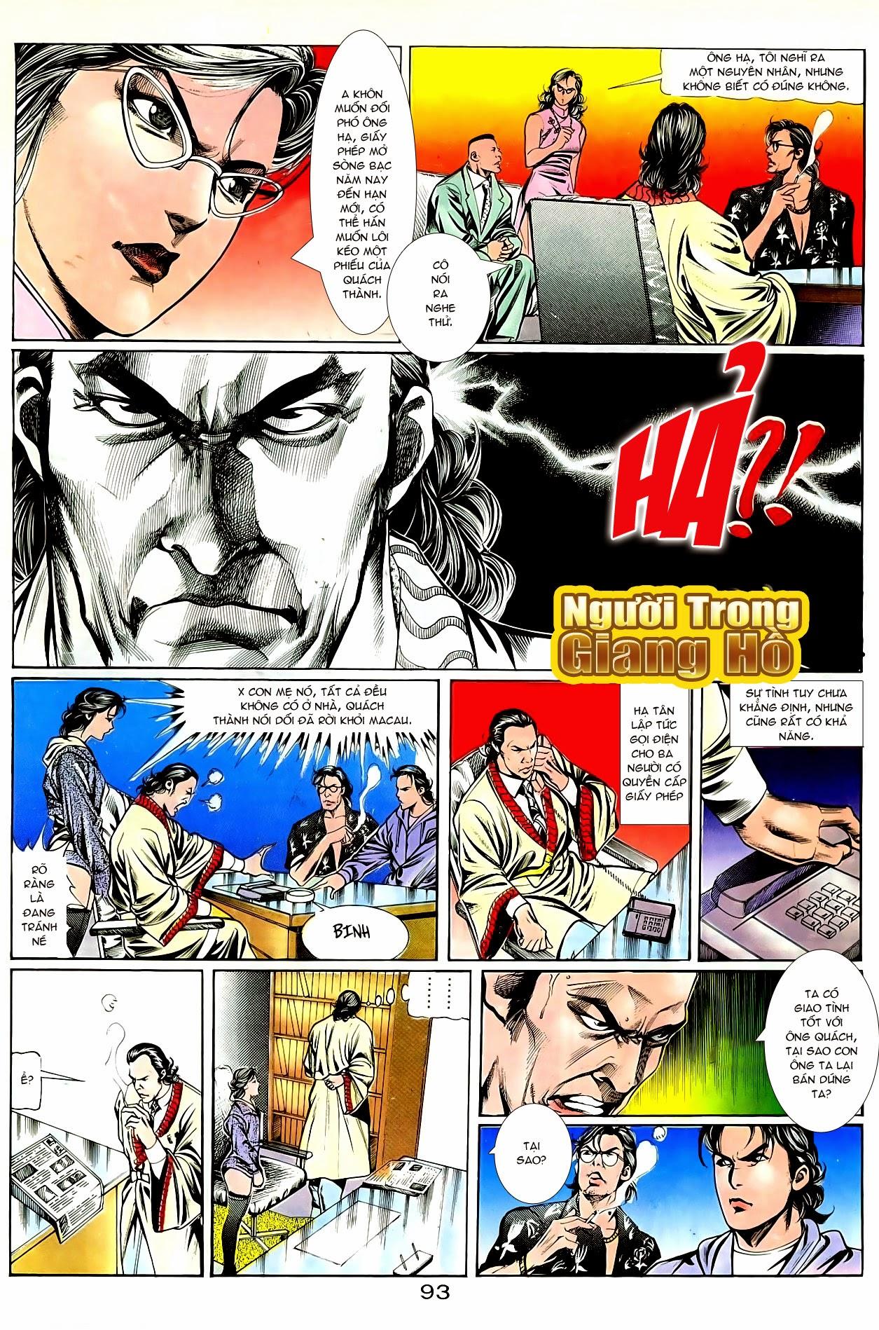 Người Trong Giang Hồ chapter 94: hoàng giả chi phong trang 24