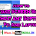 How to screenshot on laptop hp  how to take screenshot in laptop windows 7 and all pc ?