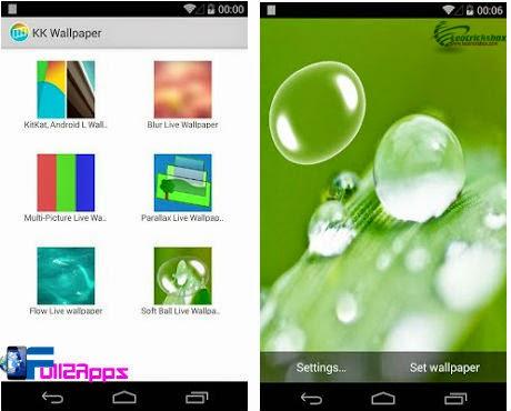 Android : KK Live Wallpaper