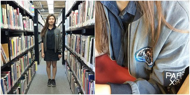 sporty jacket and dress