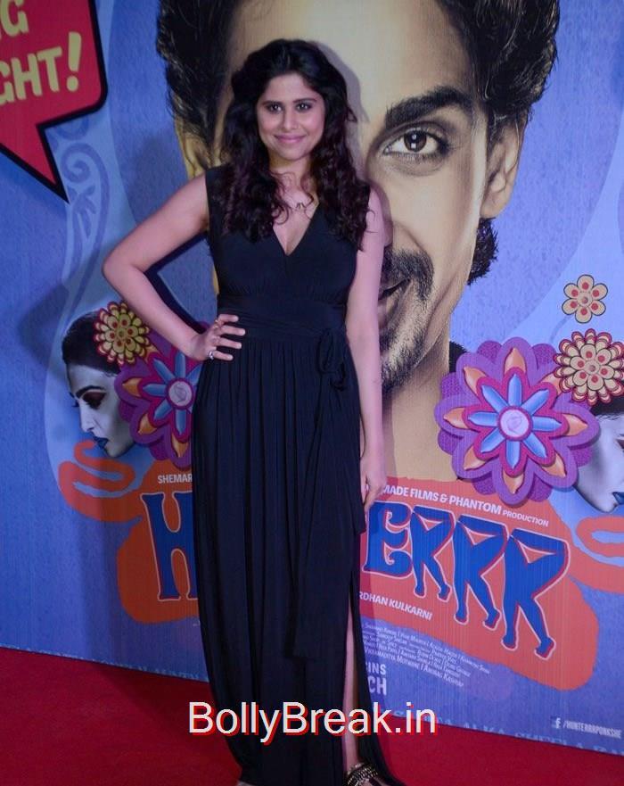 Sai Thamhnkar, Ragini Khanna, Radhika Apte Hunterr Movie Premiere Pics