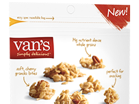 Kick Off Summer with New Products From Van's + A Giveaway #CeliacAwarenessMonth