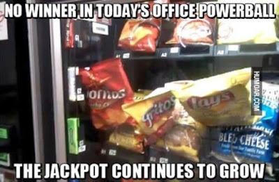No winner in office powerball...