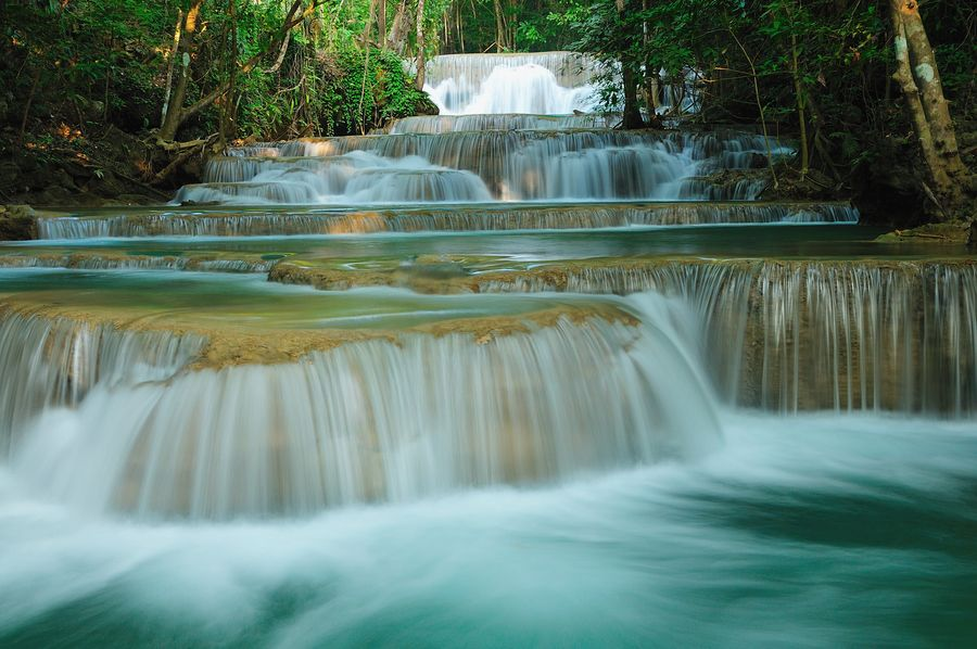 2. Cascade by Photos of Thailand