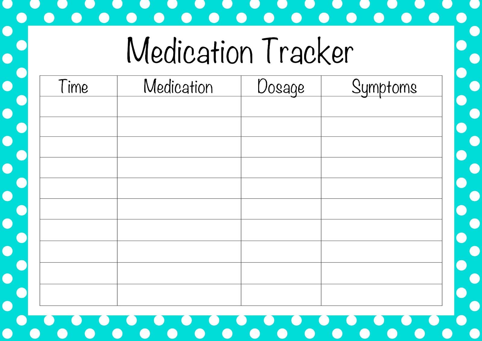 Medication List Template. my medicine list. displaying 20 gt ...