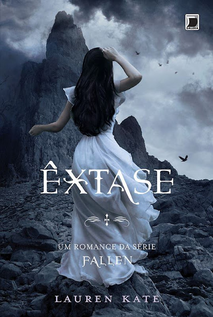 News: Capa do livro Extase, de Lauren Kate 7