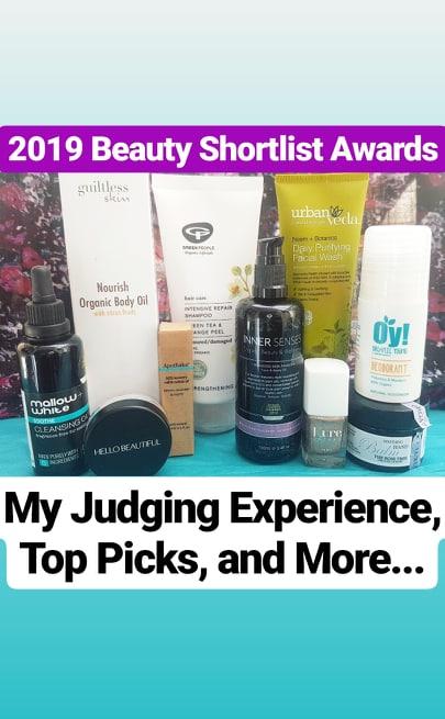 2019 Beauty Shortlist Award Winners