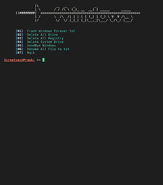 Brutal_03 Brutal - Toolkit to quickly create various Payload, PowerShell Attack, Virus Attack and Launch Listener for a HID Technology