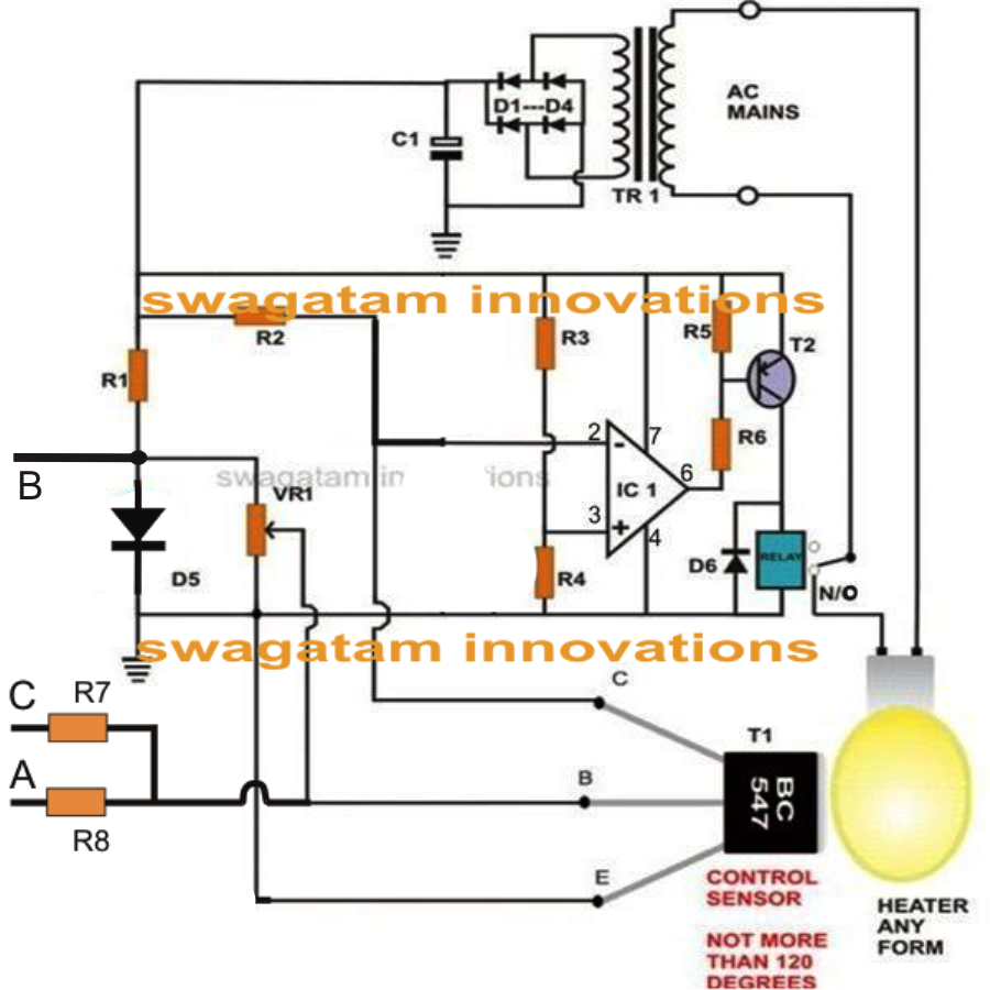 Programmable Temperature Controller Circuit For Reptile