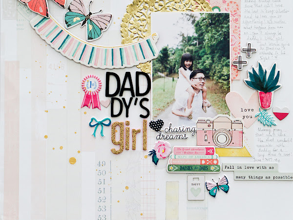 Maggie Holmes Design Team : Daddy's Girl