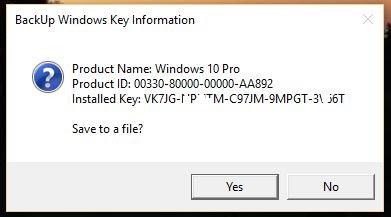 How to Know the Serial Key in Windows for Reuse in Installation