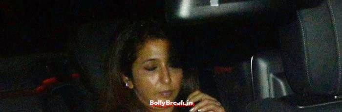 Krishika Lulla, Celebs Visit Ravi Chopra's Funeral