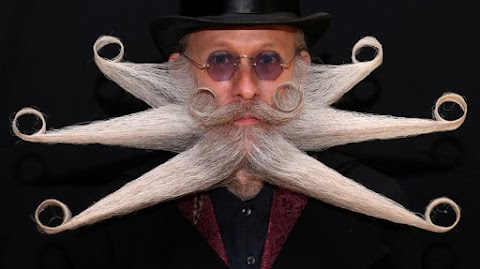 Pictures From The World Beard and Moustache Championships