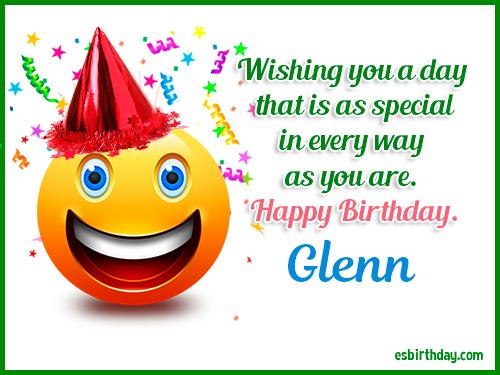 happy birthday glenn Happy Birthday Glenn   Happy Birthday images for Name happy birthday glenn