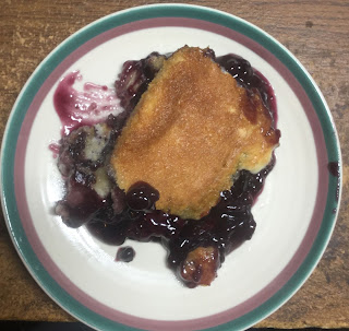 Fruit cobbler, blueberry cobbler, how to make an easy cobbler, pie filling recipes,