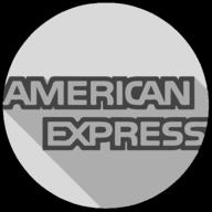 american express whiteout icon