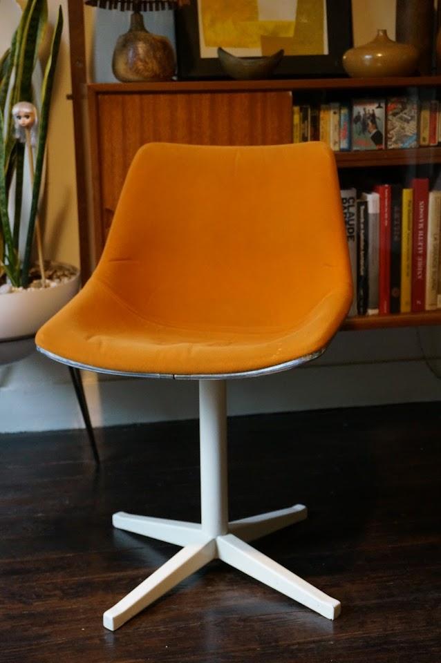 chaise L 202 de Schweitzer pour Lafargue 1970s 70s chair vintage