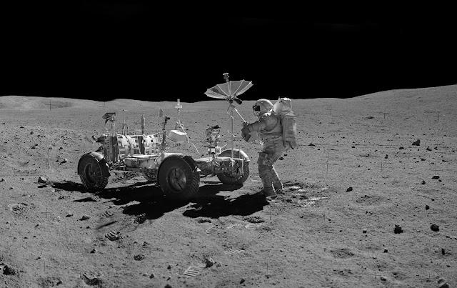 Аполло́н-16 Лунный ровер 4