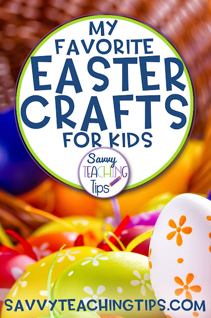 Over 30 ideas.  Here's some fantastic free ideas for kids easter crafts from savvyteachingtips.com