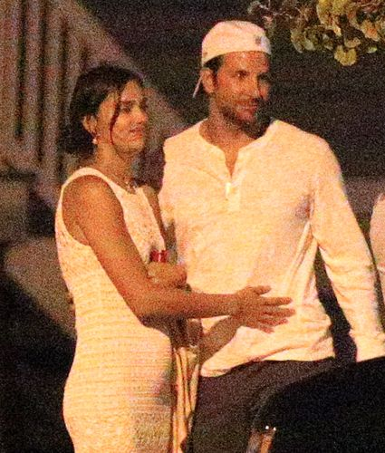 Caught! Bradley Cooper & Irina Shayk smooch dearly