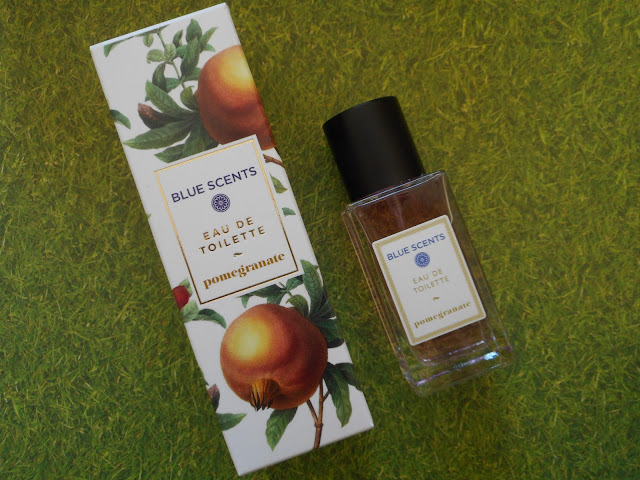 Blue Scents Eau De Toilette Pomegranate