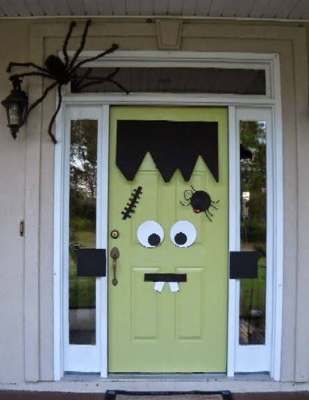 Ideas De Cómo Decorar Una Puerta En Halloween Solountipcom