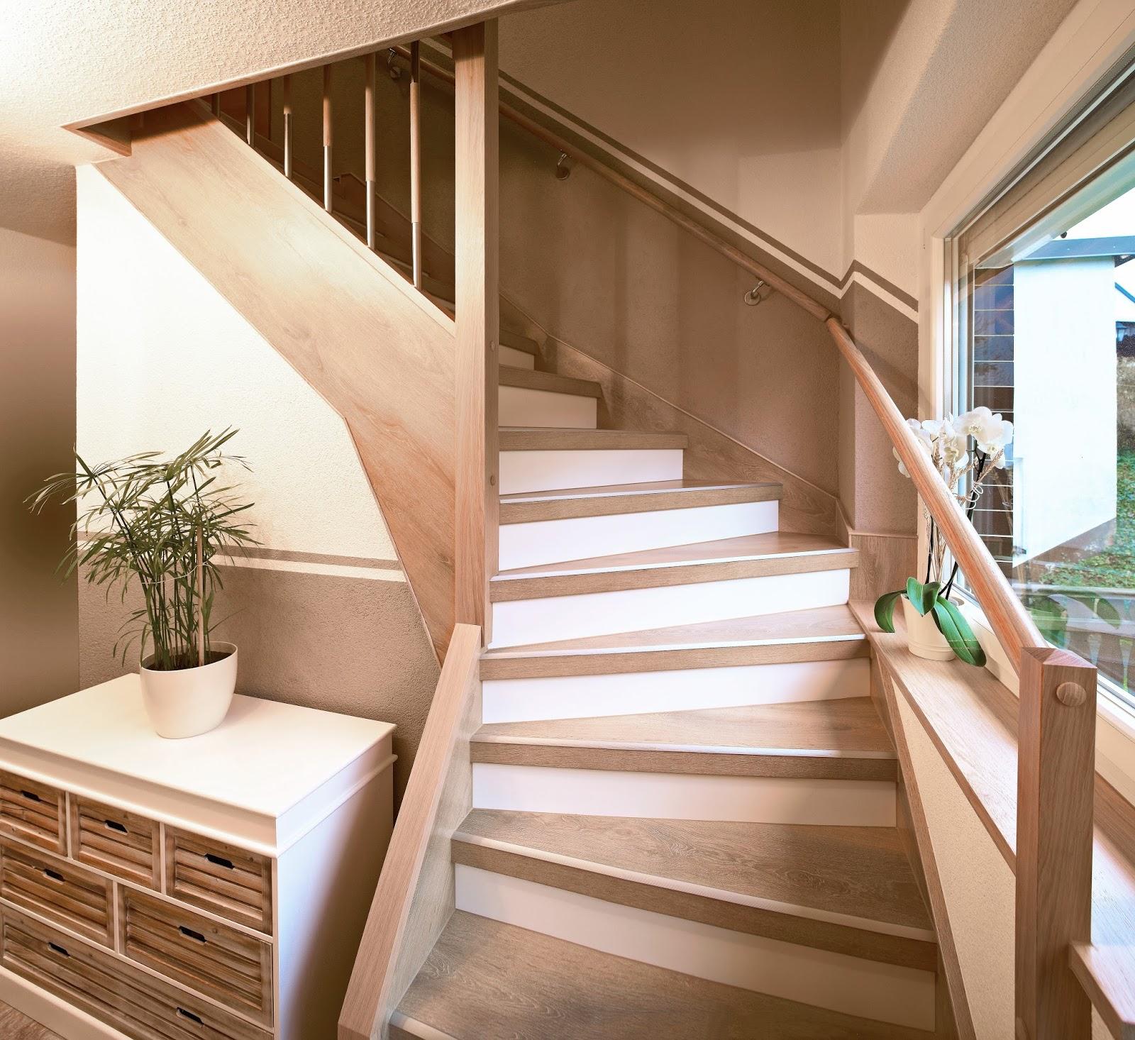 h&k treppenrenovierung: laminat auf treppen? nur in ganzen platten
