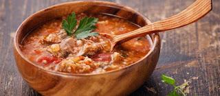 Soup kharcho / Georgian version