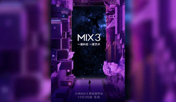 Xiaomi Mi MIX 3 with 5G Network