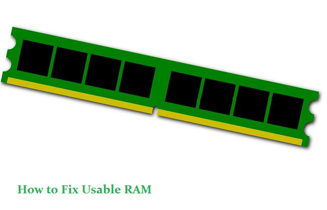 Cara mengatasi RAM Usable PC Laptop Memperbaiki