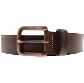 Should you buy a Valentine's Day Gift for you partner? Plus our top picks for Valentines Day from Mainline Menswear.  - Hugo Boss Orange Leather Belt