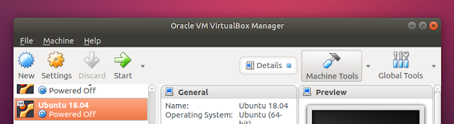 VirtualBox qt5 gtk+ style Ubuntu 18.04