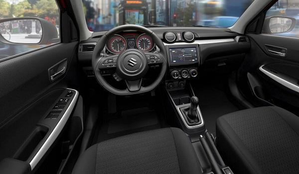 Interior Suzuki Swift 2018