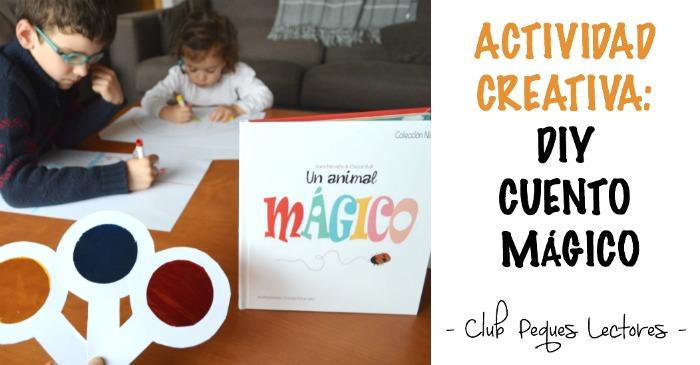 actividad creatividad niños: diy cuento mágico con lupa colores filtro óptico