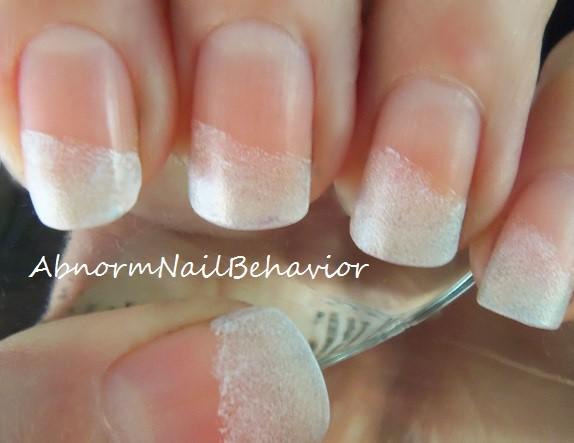 Abnorm Nail Behavior Nail Art Bright Summer French Tips