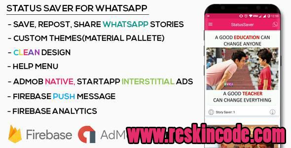Status Saver For WhatsApp Android Codecanyon